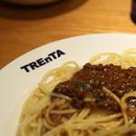 トレンタ - ミートソースパスタ