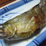 ほそばら - 鮎の塩焼き