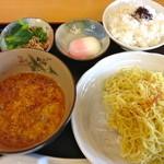 よか晩屋 - 坦坦つけ麺(870円)