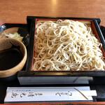 清光庵 - 料理写真:もりそば全貌 600円税別