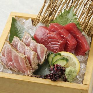 【産地直送の鮮魚】お刺身盛り合わせ