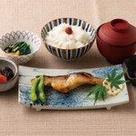旬魚の西京焼き御膳(平日)