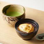 茶寮つぼ市製茶本舗 - 自家製ぜんざいとお茶セット