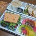 Oh! la Vache - ランチコース弁当(地鶏胸肉)