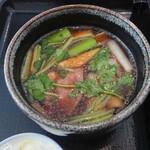 川越 藪蕎麦 - 鴨汁