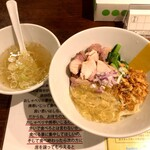 塩生姜らー麺専門店 MANNISH - 冷たい塩生姜油そば