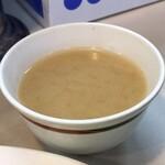 130188253 - 【再訪】オムライスに付いてくる味噌汁