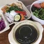 ジャストカフェ - 料理写真:ベジタブルカレー(1080円)
