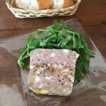 食菜 朋 - ランチコース2500円 自家製パテドカンパーニュ