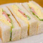 130195746 - モーニングセット 550円 のタマゴトースト