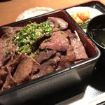 昇家 - 塩タン重 肉増量