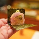 日本料理 たかむら - 甘鯛の棒寿司