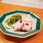 日本料理 たかむら - 佐島の蛸