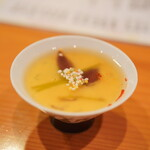 日本料理 たかむら - 蛍烏賊の茶碗蒸し