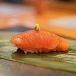 日本料理 たかむら - 五月鱒(桜鱒)