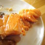 いろり村 - 鮭の焼き物