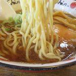 拉麺Shin. - 焼きにぼしの麺