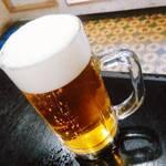 勝沼飯店 - 生ビール