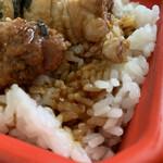 やきとり 米家 - タレのしみた白飯が美味い