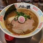 ハレノチ晴 - 料理写真:濃熟鶏しぼりそば(878円、斜め上から)