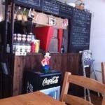大和田カフェ - 黒板。この裏は厨房