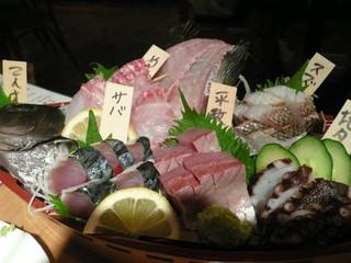 鮮魚酒場 たくみ食堂 - 舟盛り 2人前