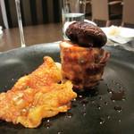 ビストラン エレネスク - フォアグラと鶏のバロティーヌ