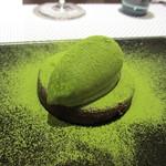 ビストラン エレネスク - クラシックショコラ 抹茶のアイス添え