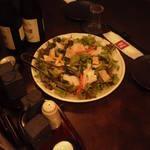 旬彩食房 雅 - 最初のサラダ・・・・