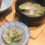 寿司と炭火 一 - あさりの酒蒸し