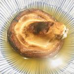寿司と炭火 一 - あご出汁で食べる どんこ椎茸