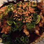 なっぱSUN - 鶏のザクザク揚げ 葱たっぷりソース
