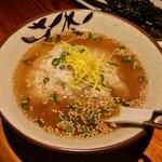 焼き鳥空雅 - 料理写真:鶏スープ茶漬け