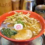 机上の空論 - 料理写真:ネギ味噌中華870円