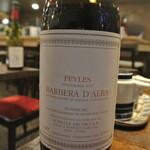 餃子とワイン 果皮と餡 - バルベラ・ダルバ