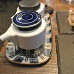 餃子とワイン 果皮と餡 - 薬味