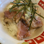 130229590 - 鶏たたき丼