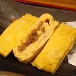 13023881 - 【ランチ】 親子出汁巻きと唐揚の定食 \680