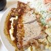 洋食 ジャンボ - 料理写真:山形豚のステーキ(デミグラスが隠し味のステーキソース)
