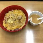 郷どり燦鶏 - 親子丼
