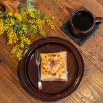 ストリングスタンドイイト - 料理写真:シナモンクリームトースト