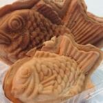 阿蘇のたいやき 山から鯛が釣れる - 料理写真:雄鯛と雌鯛