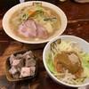 濃菜麺 井の庄 - 料理写真:濃菜麺+カレベジ、はしっこチャーシュー