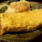 串蔵 - 厚焼き卵 甘辛く美味しい!