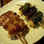 串蔵 - ちーちく・エノキ豚巻串です!鶏以外も美味しい!