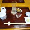 狭山 翁 - 料理写真:先のお膳が用意されます