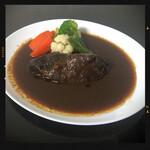 カメレオン - 牛ほほ肉赤ワイン煮込み 1200円