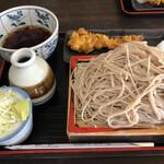 小西屋 - 料理写真:もりそばえび天つき700円