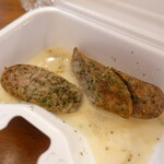 大衆肉居酒屋 ブルーキッチン - ハーブジャンボフランク