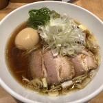 佐々木製麺所 - 料理写真:醤油そば特製1,000円也